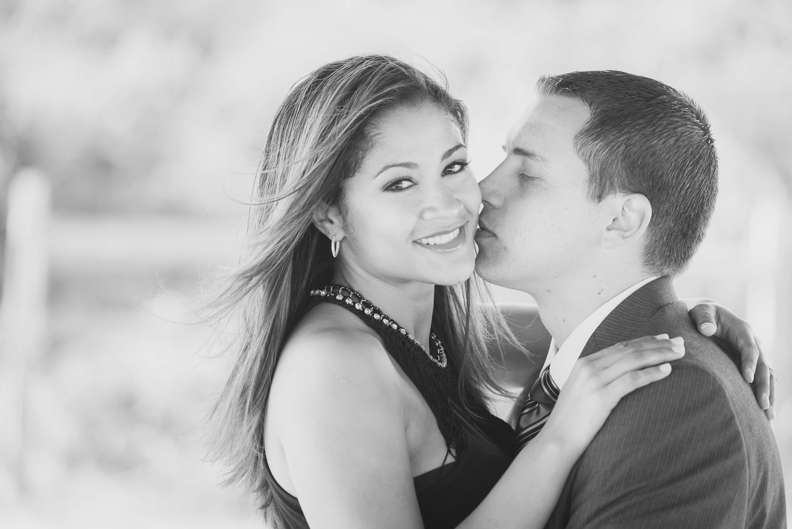 Maira & Juan Vial Engagement Picture by Severine Photography | How I started Calligraphy | The Beginning of Vial Designs