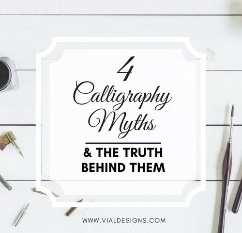Calligraphy Myths Debunked