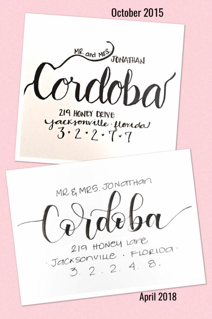 Envelop Addressing Comparison