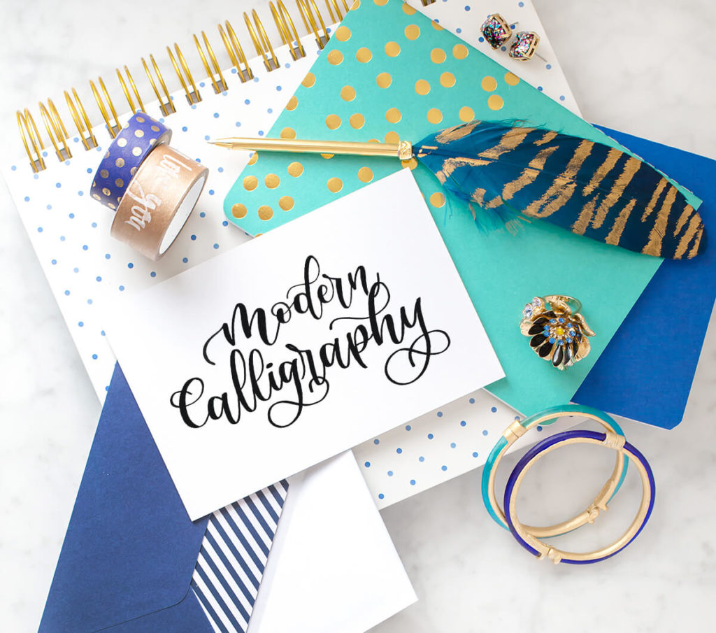 Modern Calligraphy by Vial Designs | Modern Calligraphy Explained