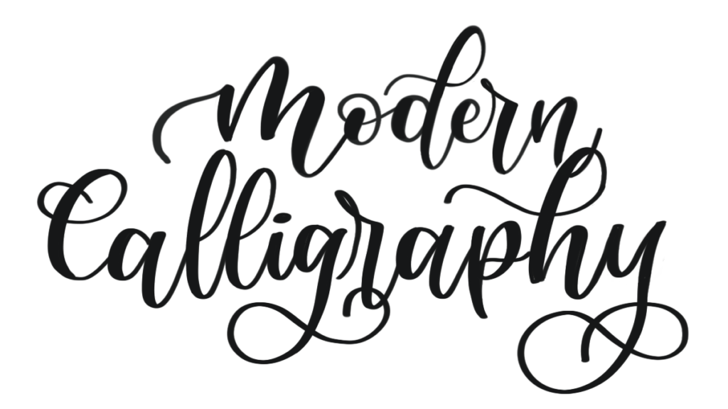 Modern Calligraphy by Vial Designs | Everything you need to know about Modern Calligraphy