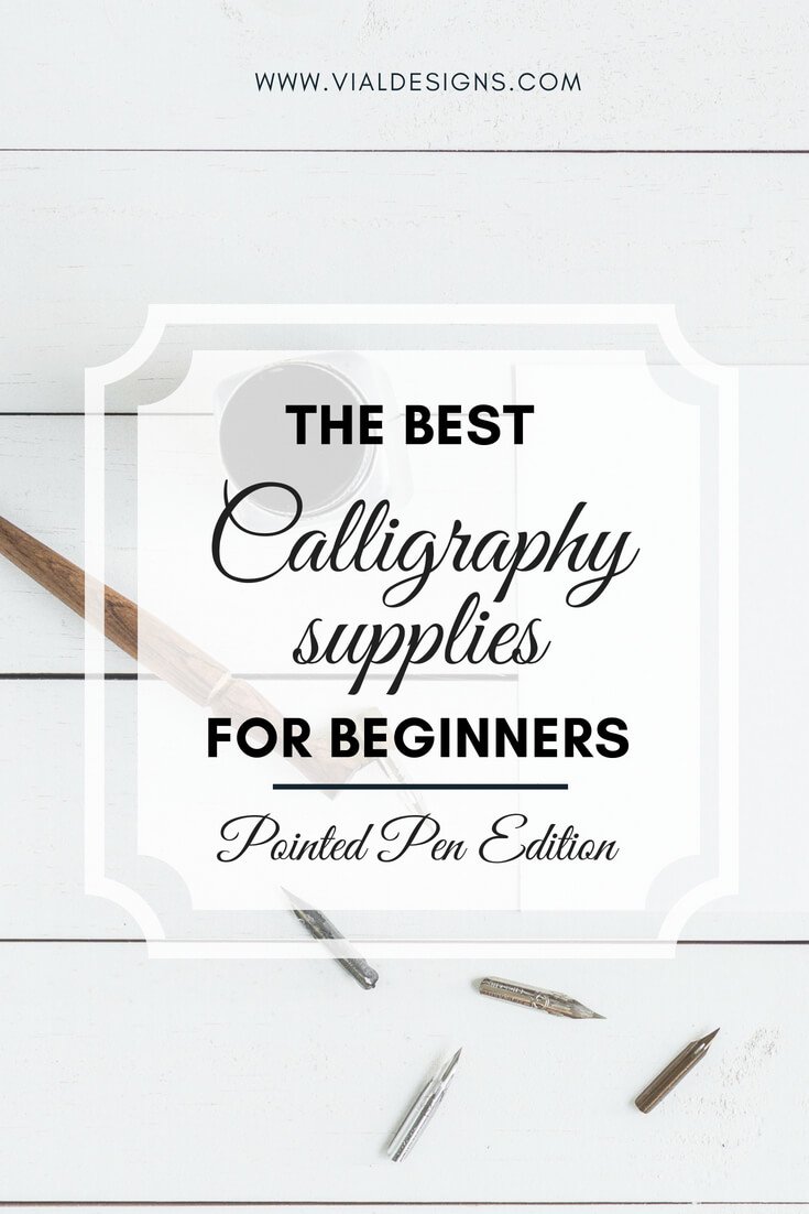 Best Calligraphy Supplies for beginners