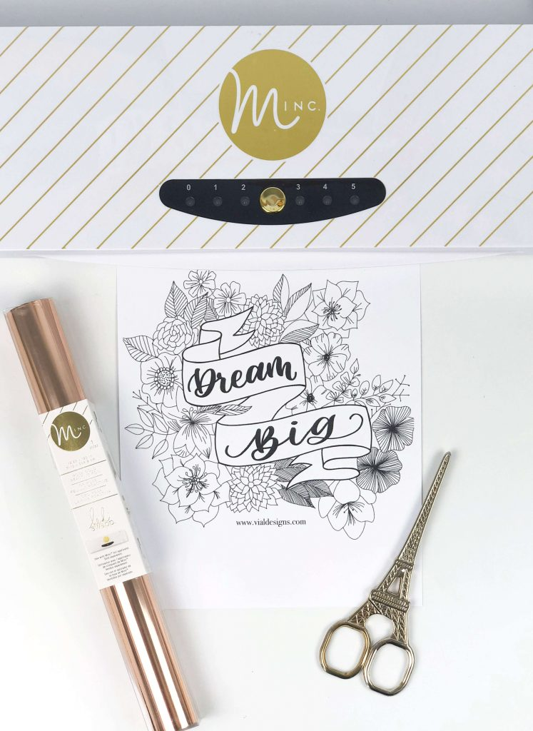 How to foil art prints - DIY Tutorial | How to make gold foil prints | By Vial Designs | Tools Needed to Foil