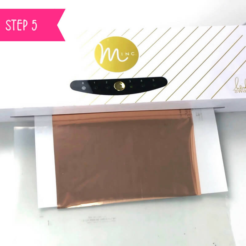 How to foil art prints - DIY Tutorial | How to make gold foil prints By Vial Designs | Step 5