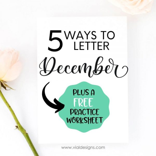 5 Ways to Letter Featured Blog Post Picture