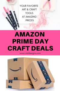 Amazon Prime Day Lettering Deals by Vial Designs