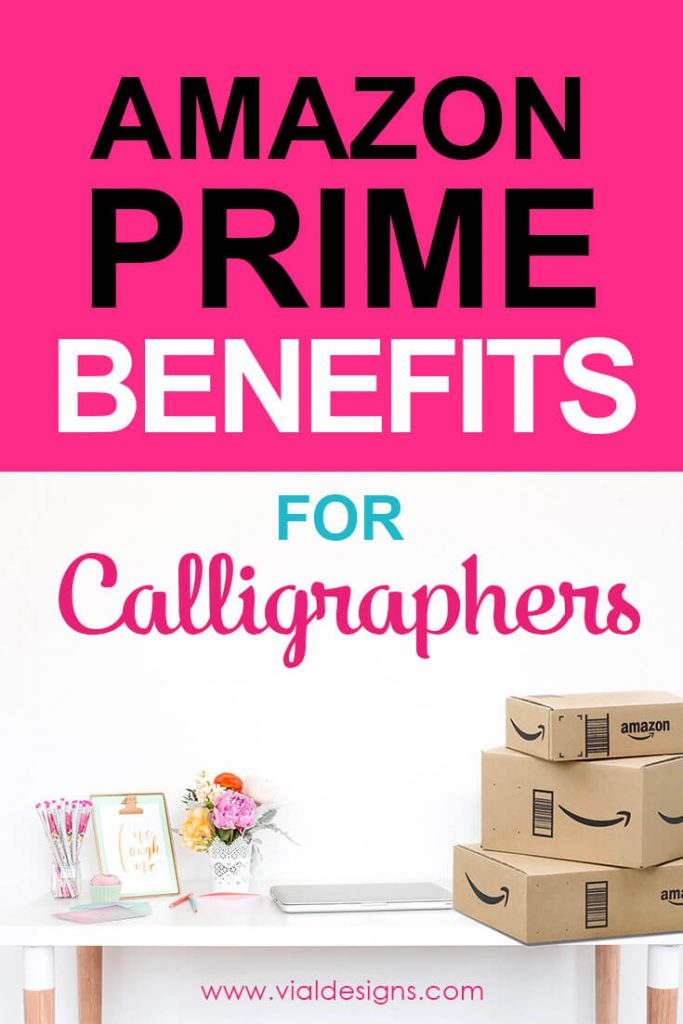 Benefits of having Amazon Prime by Vial Designs