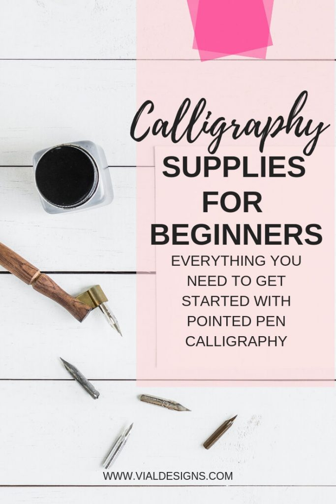 Best Calligraphy Supplies for Beginners Pointed Pen