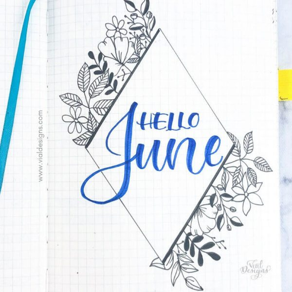 PLAN WITH ME JUNE 2019 | BULLET JOURNAL SET UP