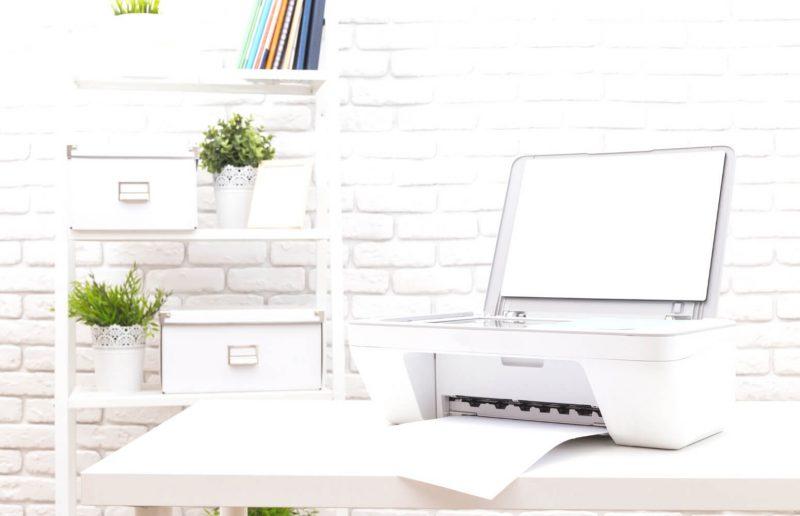 HP instant ink printer displayed