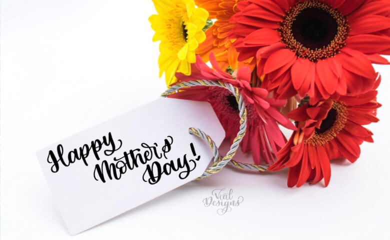 Happy Mother's Day Calligraphy Tutorial Blog Post Feature Image