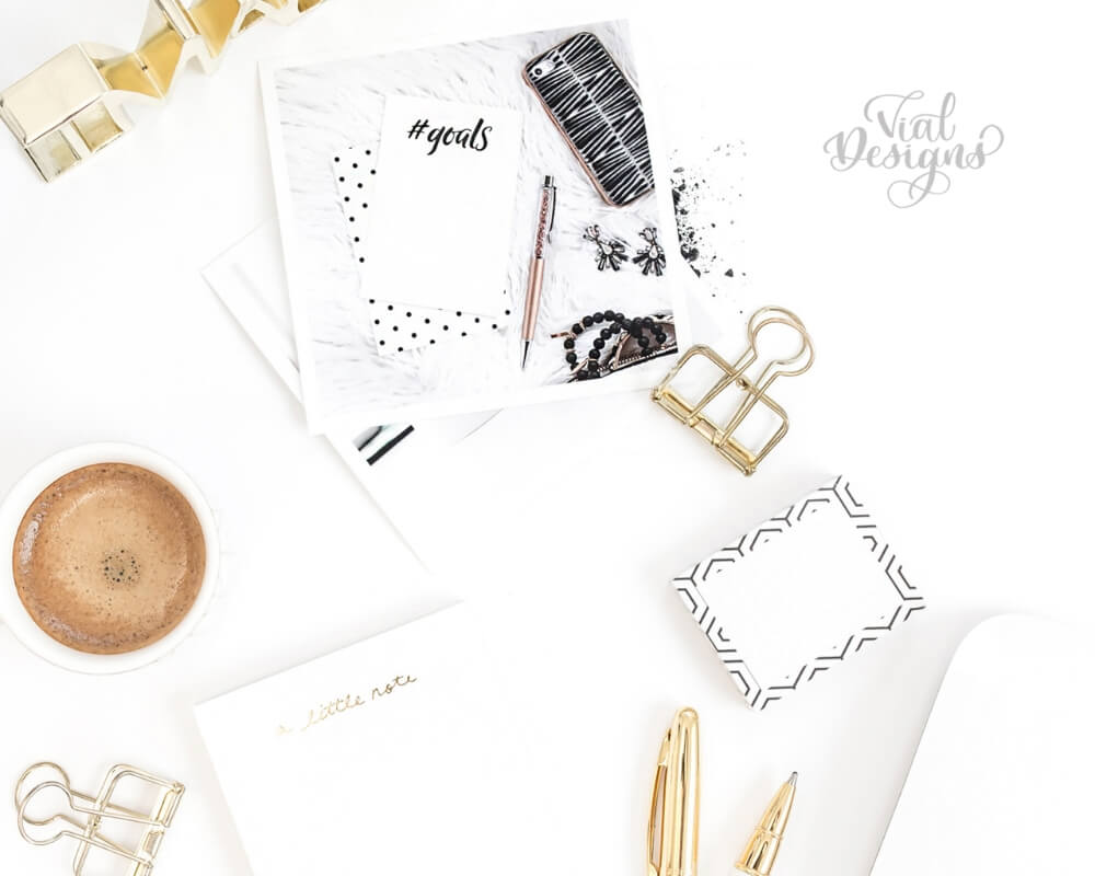How to Find Time to Practice_gold and white stationery