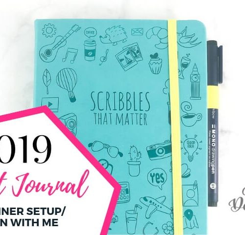 My 2019 Bullet Journal Planner setup by Vial Designs