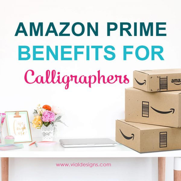 AMAZON PRIME IS A GAME CHANGER FOR CALLIGRAPHERS!