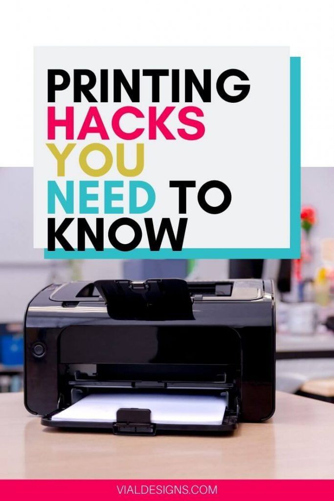 Printing Hacks you need to know_HP Instant Ink
