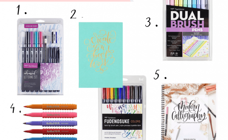 The Ultimate Gift Guide for Creatives | Gift Ideas for the Hand Lettering Aficionado by Vial Designs | Gift ideas for lettering artists, crafters, calligraphers, and watercolor artists