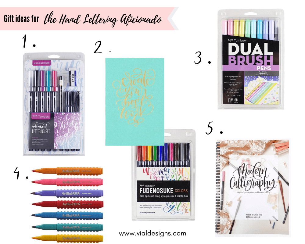 THE ULTIMATE GIFT GUIDE FOR CREATIVES - Vial Designs