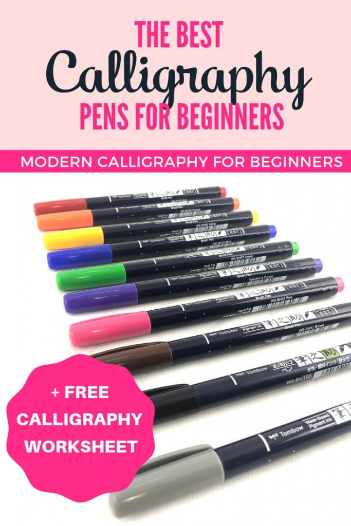The best calligraphy pens for beginners by Vial Designs