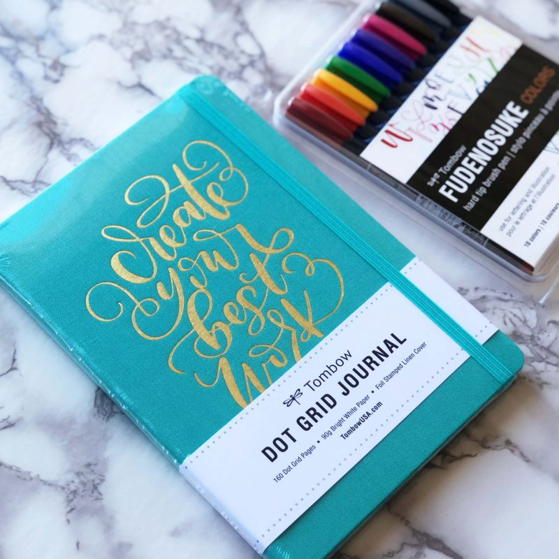 Tombow Dot Grid Journal Giveaway By Vial Designs