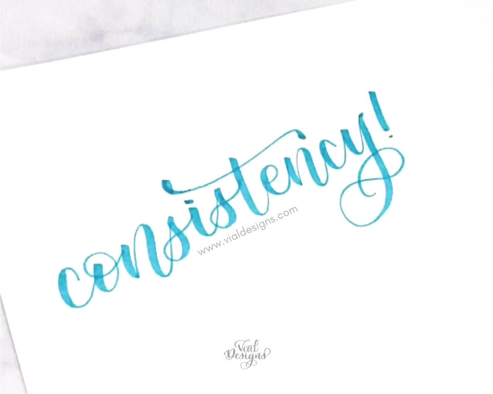 Word of the year Consistency | Vial Designs
