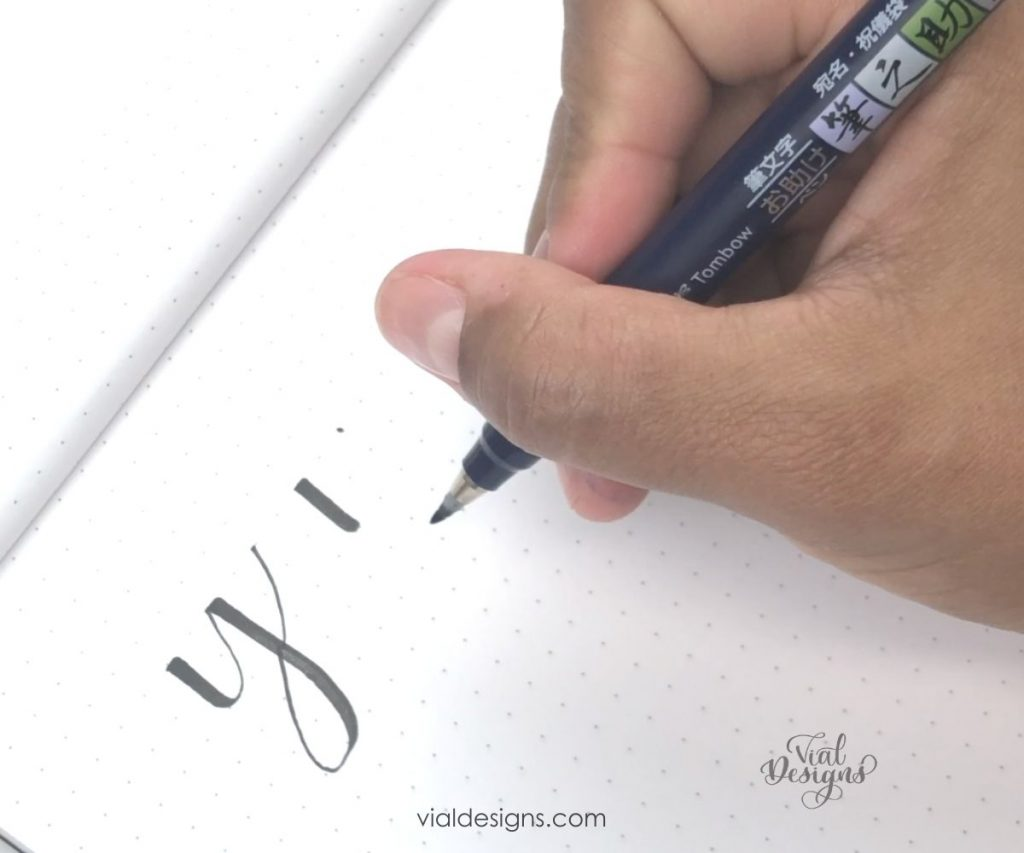 better calligraphy upstrokes-tip 2