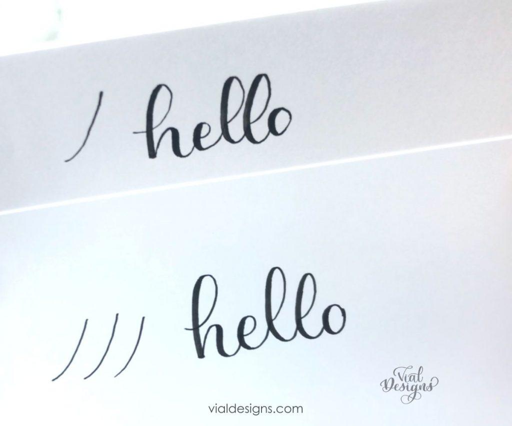 comparison between regular printer paper and premium paper