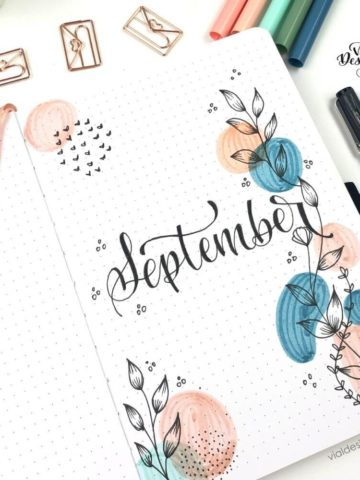 september-abstract-and-botanical-drawing-theme